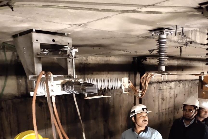 Installation at Delhi Metro Underground Station since 2019